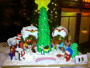 Touring the Christmas sights, Hyatt Regency Vancouver's Gingerbread Lane