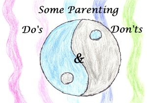 As Parents We Are Learning All The Time. There Is No Right Or Wrong Only Different Ways To Try Something.